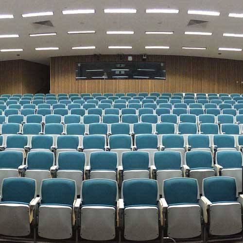 acoustics in a lecture theatre